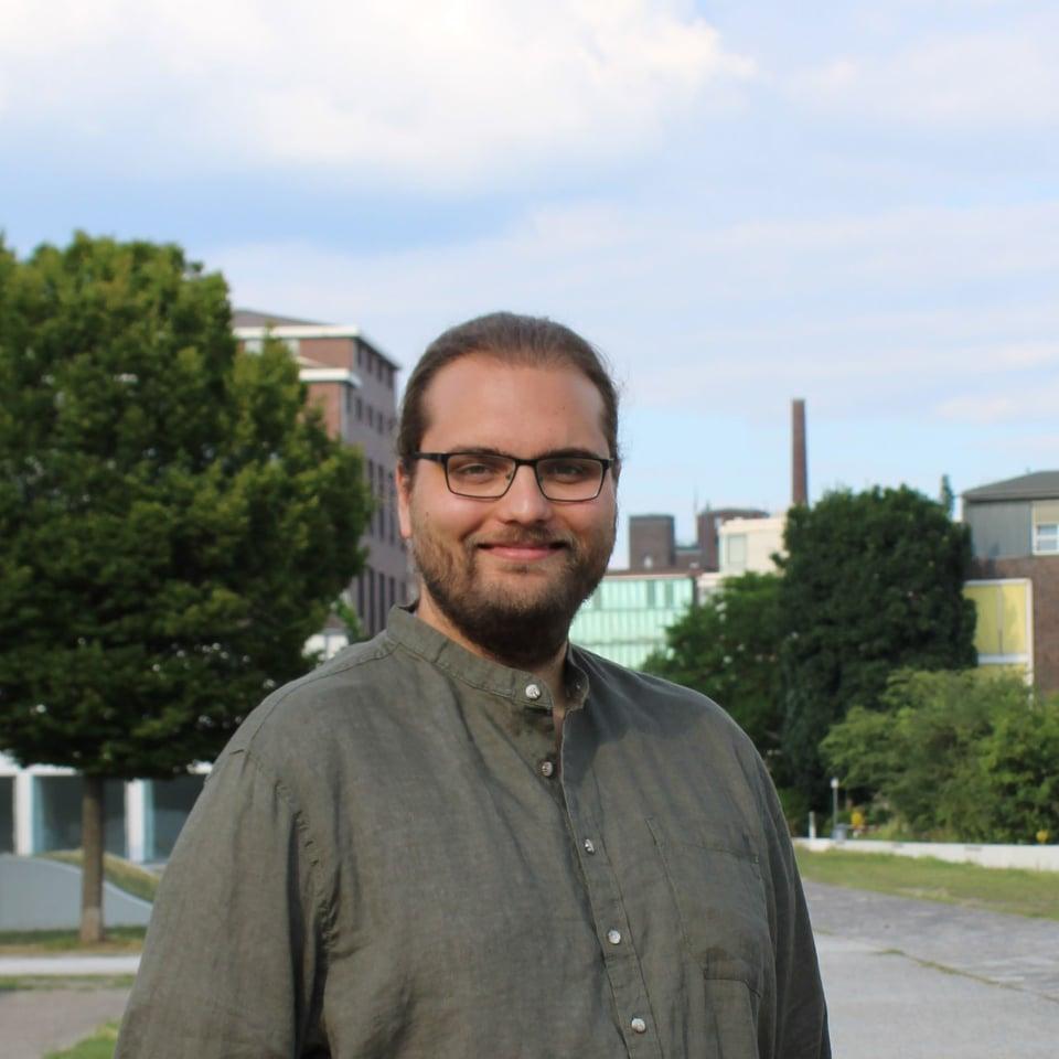 Felix Lütke, Sprecher von Bündnis 90 / Grüne in Duisburg; Foto: Privat