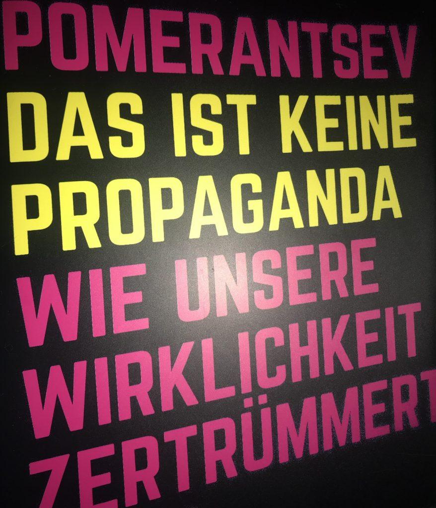 Das ist keine Propaganda; Foto: Peter Ansmann