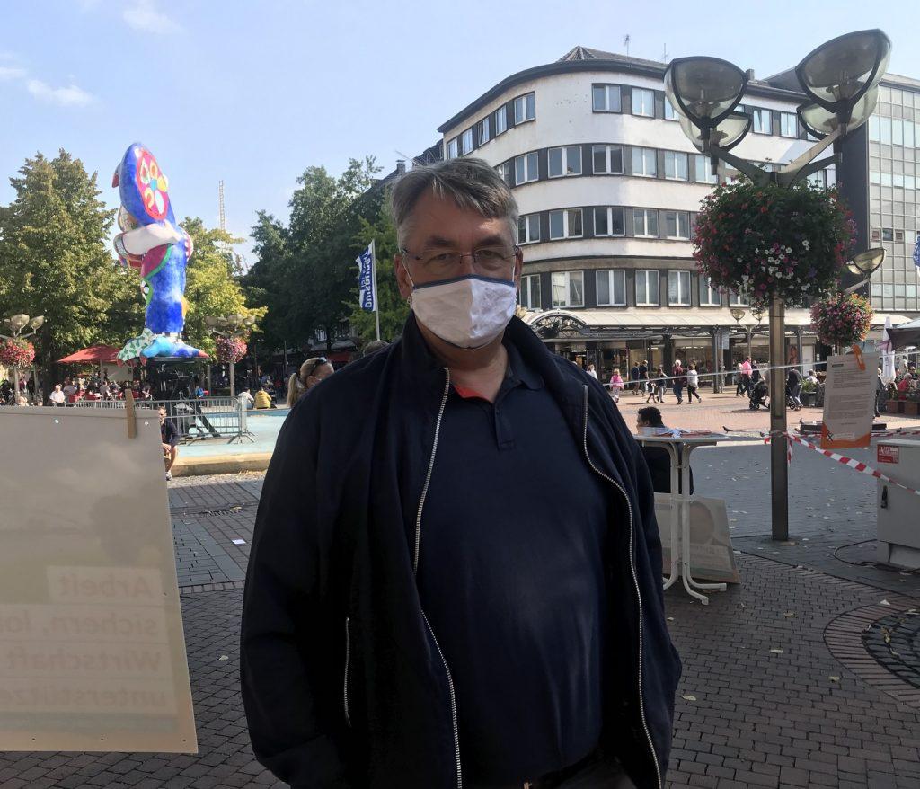 Bleibt äußerst cool gelassen, trotz der Ausdehnungsversuche der CSU nach Duisburg: Peter Ibe, Ratsherr und stellvertretender Vorsitzender der CDU in Duisburg; Foto: Peter Ansmann