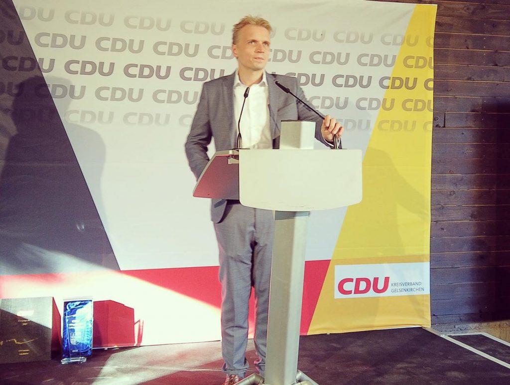 Sascha Kurth, CDU-Vorsitzender in Gelsenkirchen; Foto: privat