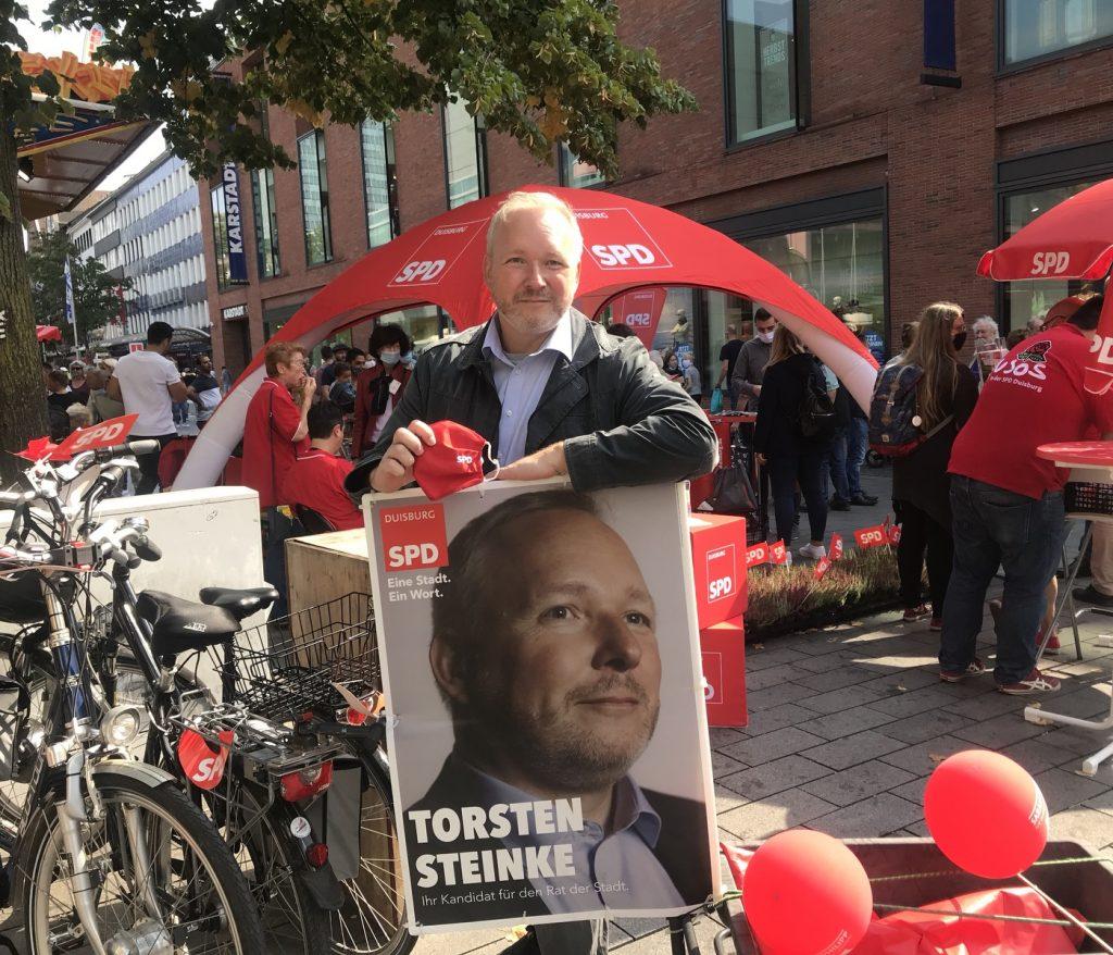 """Torsten Steinke: Sein Ortsverein war bereits in den 90er Jahren mit der URL """"Sozialdemokraten.de"""" online; Foto: Peter Ansmann"""