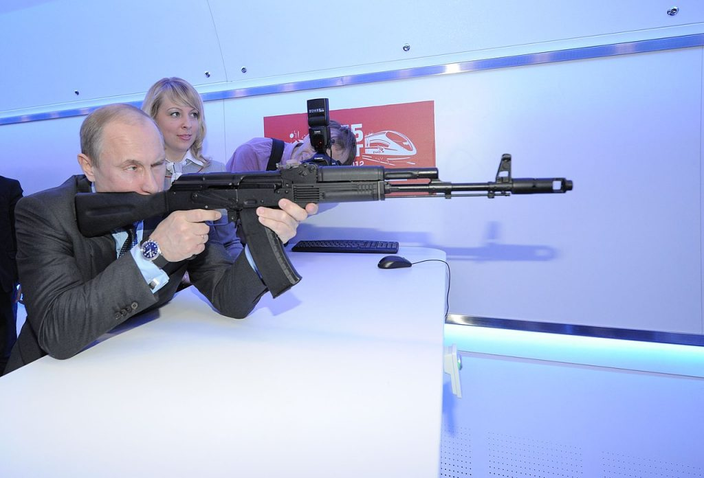 Russlands ewiger Präsident Wladimir Putin hat den Westen im Visier und setzt auf klassische Zersetzungsstrategien; Foto:Government.ru / CC BY