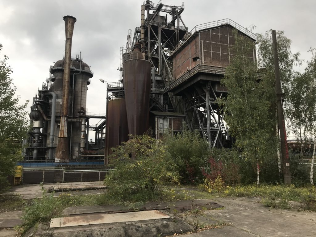 Industriekultur in Duisburg; Foto: Peter Ansmann