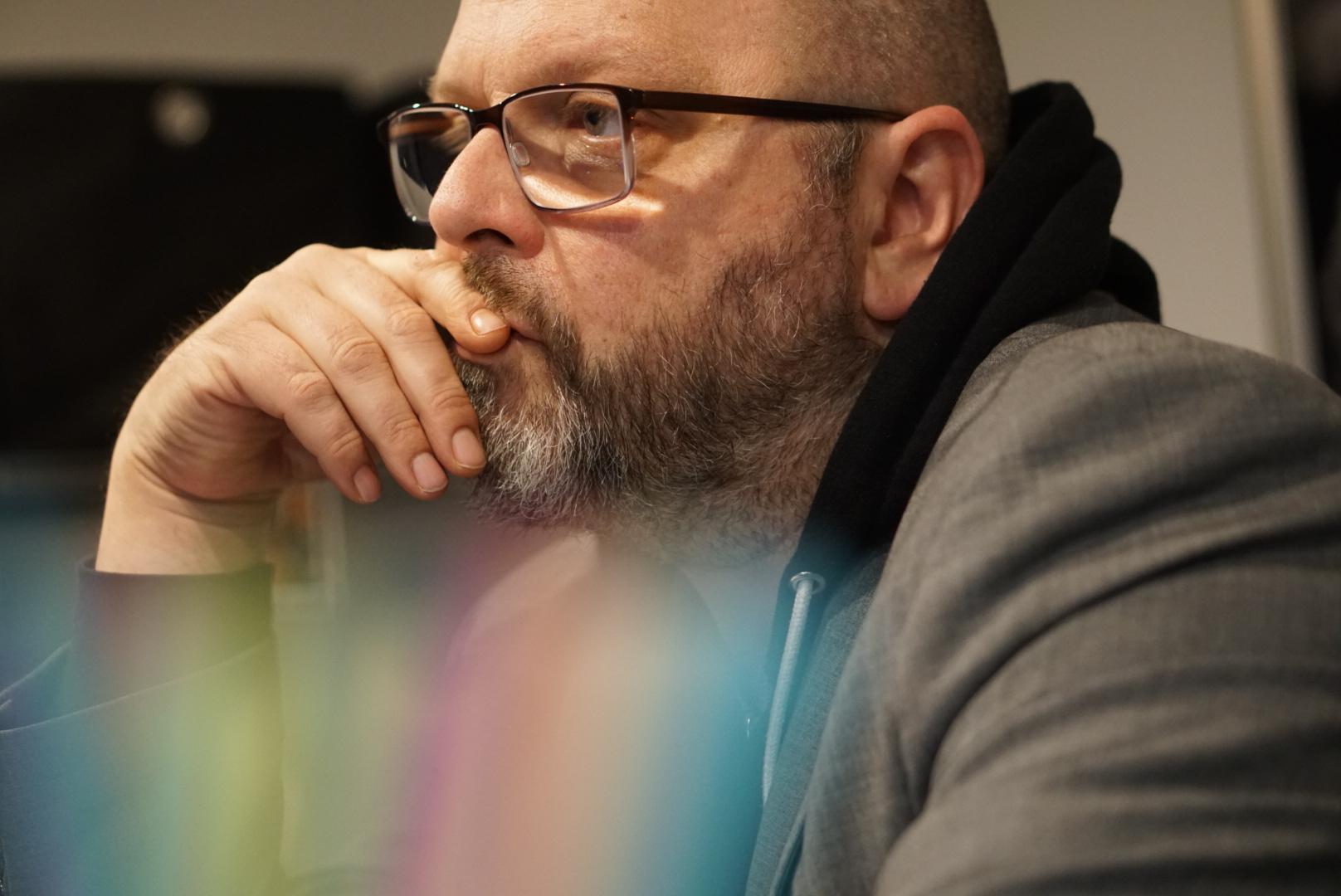Portrait von Matthias Hecht Podcast die Gute Minute