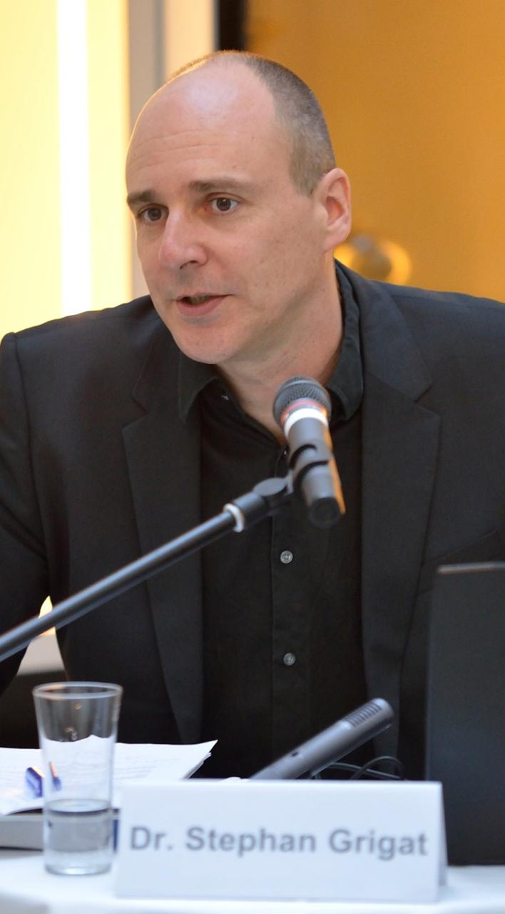 Dr. Stephan Grigat; Foto: Jüdisches Museum Wien/Sonja Bachmayer